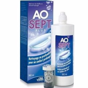 65fb9bc5fd Ao Sept Plus Solución Limpiadora Pupilentes 360ml Solotica