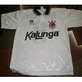Camiseta Corinthians Kalunga Autografada Ídolos 1994 cd34893f6ba95