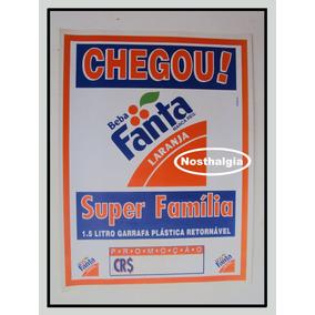 Cartaz Promocional - Fanta Laranja - Anos 70 - F(229)