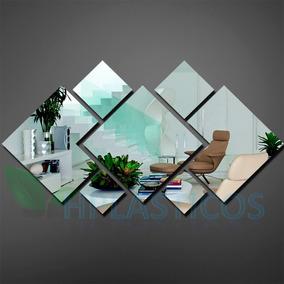 Espelho Decorativo Grande 100 Cm X 56 Cm Montado