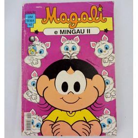 Revista Magali E Mingau 2 Col Um Tema Só Fevereiro 2005