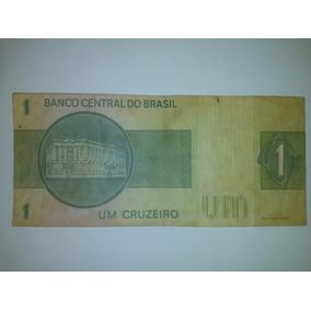 Cédula Nota Um Cruzeiro Original - Colecione!