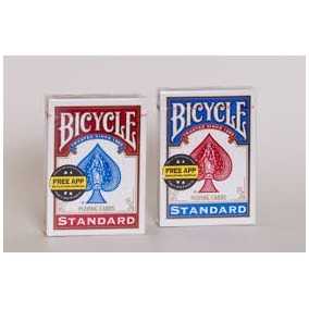 2 Baralhos Bicycle Standard - Azul E Vermelho (par) - Poker