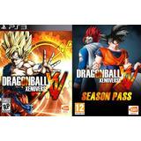 Dragon Ball Xenoverse + Gt Pack 1,2 + Resurrection F Ps3 Gcp