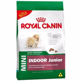 Royal Canin Mini Indoor Junior Filhote 7,5kg