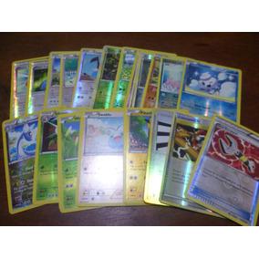 Lote 30 Cartas Pokemon Reverse Circulos Y Rombos