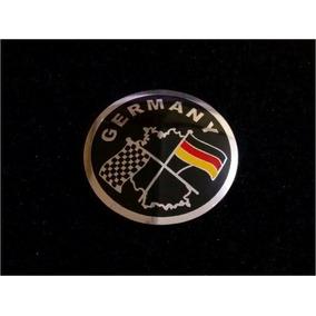 Emblema Adesivo Badge Em Metal Germany Audi Bmw Mercedes Vw!