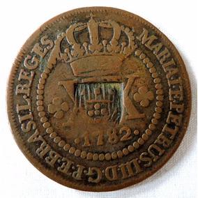 Moeda Xx Reis 1782 Com Escudete