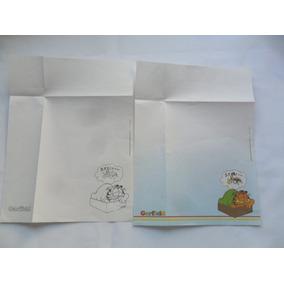 Papel De Carta Coleção Garfield 1978 Veja Anúncio E Fotos