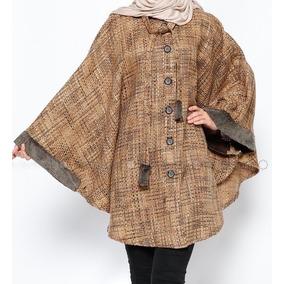 Poncho Feminino Sultan-i Yegah - Bege / 225-13
