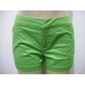 Shorts Verde Curto Tam 40 Forever 21 Usado Bom Estado