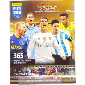 Cards Adrenalyn Xl Fifa 365 - Lote Cm 120 Cards S/ Repetição