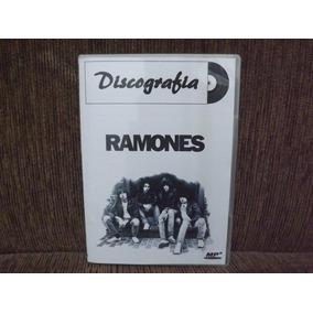 Dvd Áudio Discografia Ramones - Completa 1976/2006