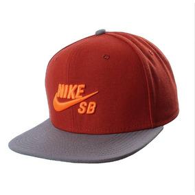 Boné Nike Sb Icon Pro 628683-663 Laranja Original 117fd2bdb73