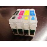Cartuchos Recargables Epson Tx130 Xp211 Xp201 Unlimited Ink