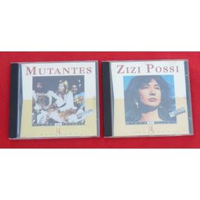 Mutantes E Zizi Possi-2 Cds-minha História(colecionador-mg)