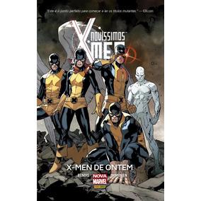 Novíssimos X-men X-men De Ontem Capa Dura Frete 12,00