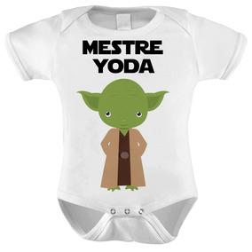 Body Baby Star Wars Mestre Yoda Baby 1062 18fa07cb956