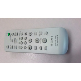 Controle Sony Rm-amu006 Hcd-gt111 Mhc-gt222 Gt444 Gt555