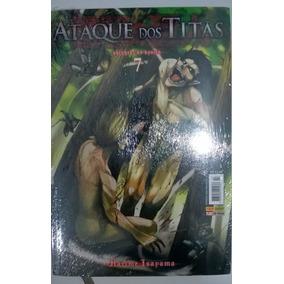 Mangá Ataque De Titãs Volume 7