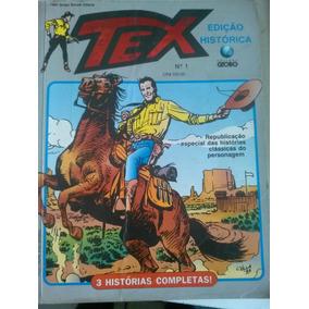 Tex Nº 1 - Edição Histórica - 3 Histórias Completas