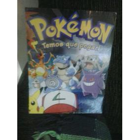 Poster Completo Álbum Pokemon-temos Que Pegar