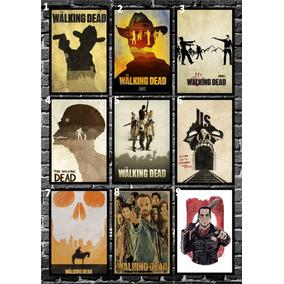 Quadro Pôster The Walking Dead - A4