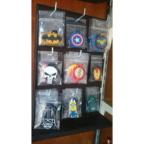 Chaveiros Variados Star Wars, Batman, Superman, Minecraft