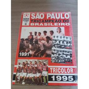 São Paulo Tricampeão Brasileiro - Poster Série Futebol 1008
