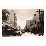 Cartao Postal Rua 1 De Agosto - Bauru - Sp Anos 50