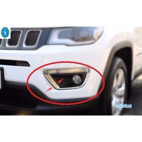 Jeep Compass Moldura Cromada Farol Milha Neblina = Limited