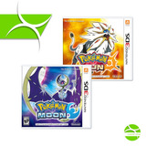 Pokemon Sun Y Moon - Nintendo 3ds Físico - C/u