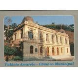 Qpe-47512- Postal Petropolis, R J- Palacio Amarelo- Camara