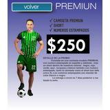 0c5a3466f69d1 Conjunto Camiseta Pantalon Y Medias De Futbol - Fútbol en Mercado ...