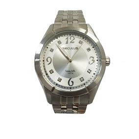 e30abbe5c4e Relógio Seculus Feminino Prata - Relógio Seculus Feminino no Mercado ...