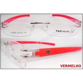 Oculos Tag Hauer Th5069 Vermelha Armacoes - Óculos no Mercado Livre ... 2598be29bc
