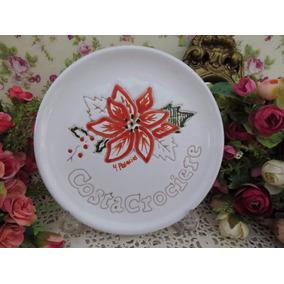 Porcelanas Chá De Anis - Prato Decorativo Italiano