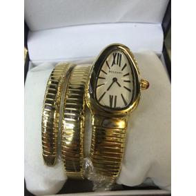 2fd88bb3c75 Relogio Bulgari Serpente - Relógios no Mercado Livre Brasil