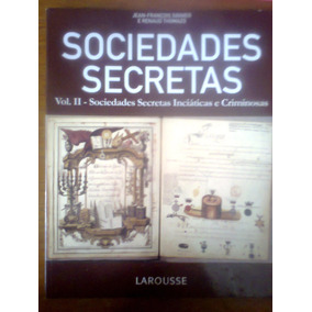 Sociedades Secretas Vol. 2 Larousse Revista Excelente Estado