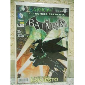 Batman # 5 Arkham City Dc Mexico Comic