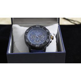 e1d5e8c85ac Relógio Masculino Nautica Pulseira De Couro Legítimo