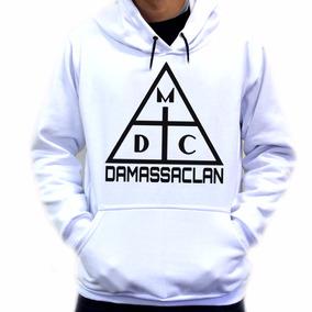 Blusa Blusão Casaco Moletom Dmc Damassaclan Rap Skate. 3 cores. R  69 90 9b24b12d1d7