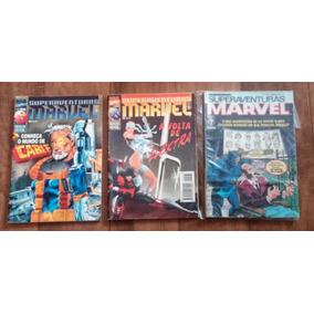 Lote Hq Super Aventuras Marvel 99, 166 E 167 Frete 10 Reais