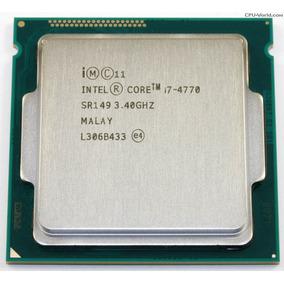 Core I7 4770 Lga Socket 1150 3.4g Oem Testado Com Garantia