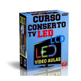 Curso Tv Led Lcd Kit 7 Dvds + Apostila Sony Frete Grátis F17