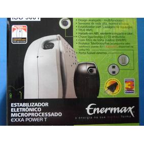 Estabilizador Enermax 300 Va 4 Tomadas