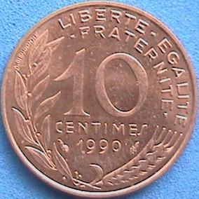 Spg Francia 10 Centimes Varios Años Disponibles.