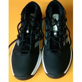 a3c41c56ebb Zapatillas Adidas Cuero Negro Hombres - Ropa y Accesorios en Mercado ...