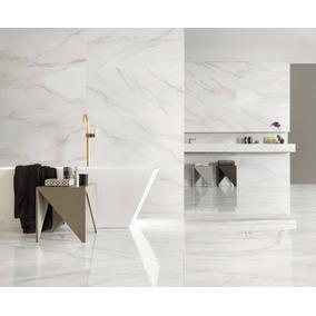 Porcelanato Portobello Bianco Covelano 60x120 Pulido Rectf.