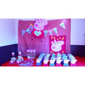 0292a41f9 Cotillon Bolsas De Peppa Pig - Souvenirs para Cumpleaños Infantiles ...